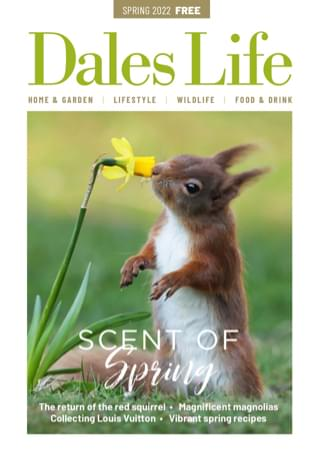 Dales Life Spring 2021 issue magazine cover – The joys of Spring